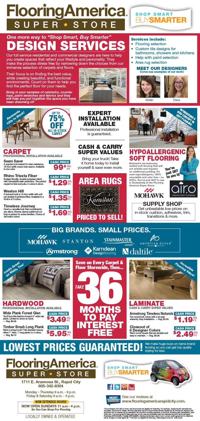 Flooring America Of Rapid City Sd